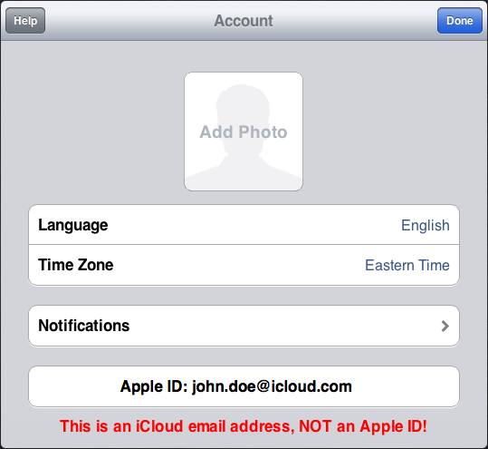 iCloud account-annotated
